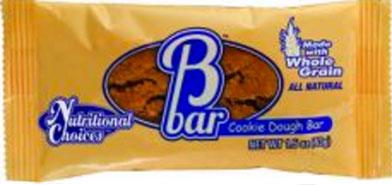 Nutritional Choice BBar Cookie Dough